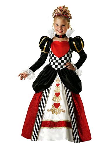 Herzkönigin Kostüm Kinder