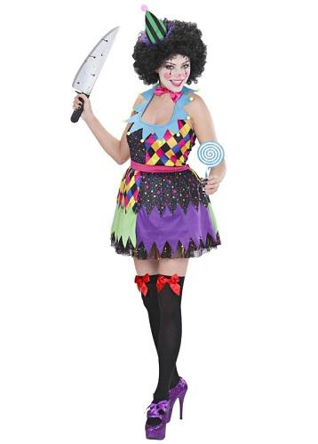 Horrorclown Kostüm Damen
