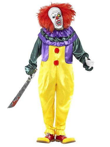 Horrorclown Kostüm Herren Pennywise Es