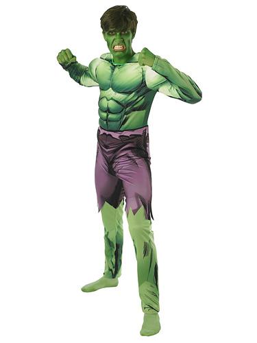 Hulk Kostüm Männer