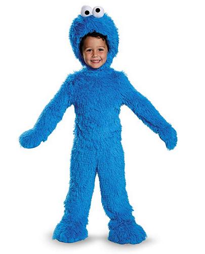 Krümelmonster Kostüm Kinder