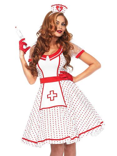 Krankenschwester Kostüm Damen