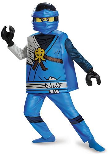 Lego Ninjago Kostüm Jay Kinder