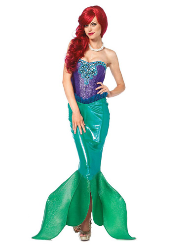 Meerjungfrau Kostüm Damen Arielle