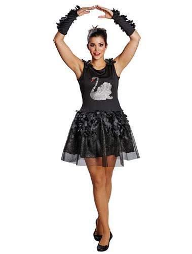 Schwarzer Schwan Kostüm