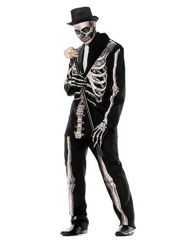 Skelett Kostüm Herren