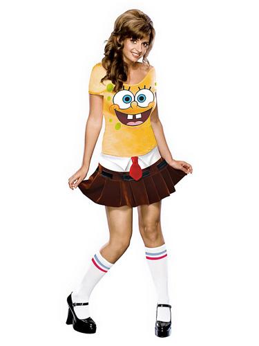 Spongebob Kostüm erwachsene Damen