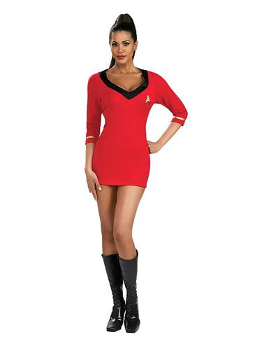 Star Trek Kostüm Damen Uhura