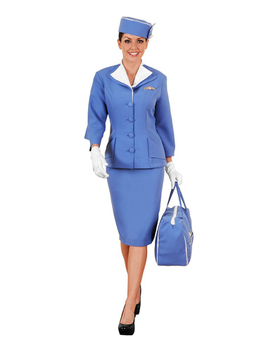 Stewardess Kostüm Damen