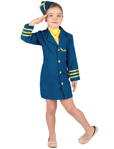 Stewardess Kostüm Kinder