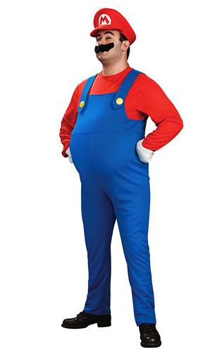 Super Mario Kostüm Herren
