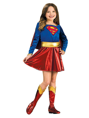 Supergirl Kostüm Kinder