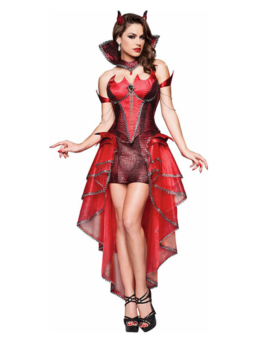 Teufel Kostüm Damen - sexy Teufelin