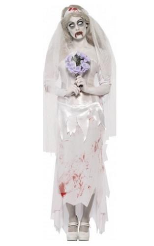 Zombie Braut Kostüm Damen