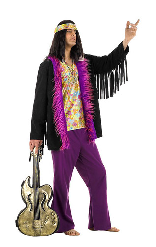 70er Jahre Hippie Kostüm Herren