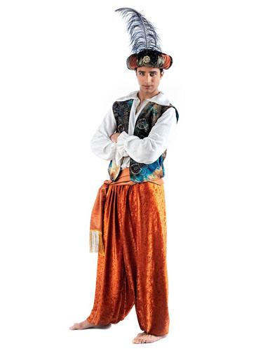 Aladdin Kostüm Herren und Kinder