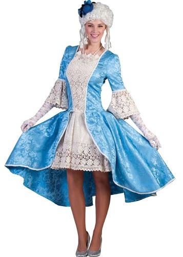 Barock Kleid Kostüm Damen