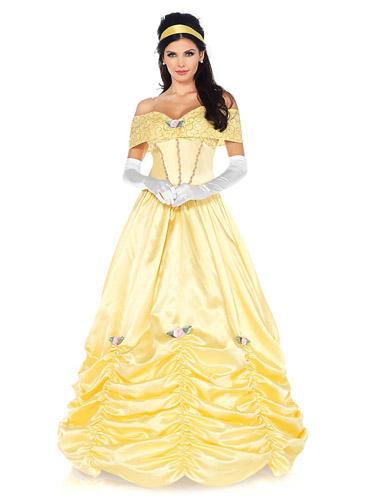 Belle Kostüm Damen - Die Schöne und das Biest