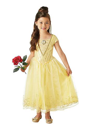 Belle Kostüm Kinder aus Die Schöne und das Biest