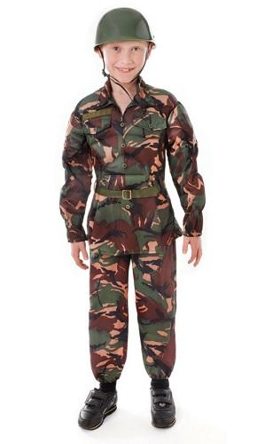 Bundeswehr Kostüm Soldatenkostüm Kinder