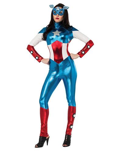Captain America Kostüm Damen