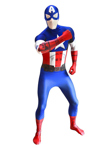 Captain America Kostüm Herren