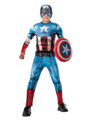 Captain America Kostüm Kinder