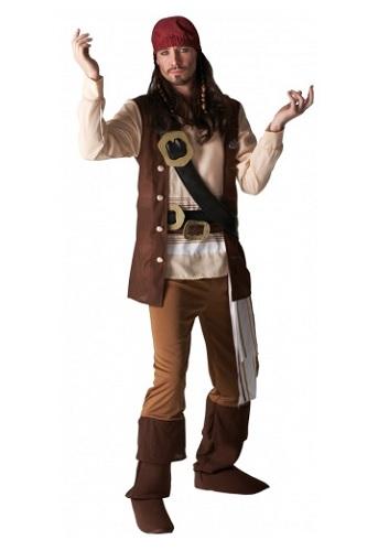 Captain Jack Sparrow Kostüm Fluch der Karibik