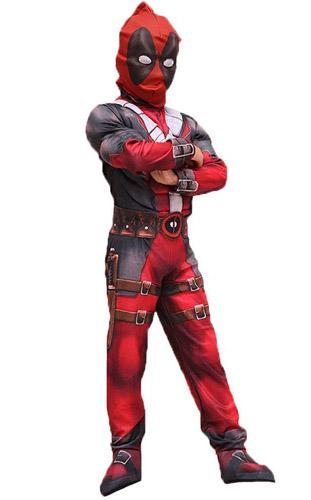Deadpool Kostüm Kinder