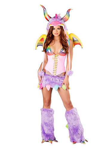 Drachen Kostüm Damen