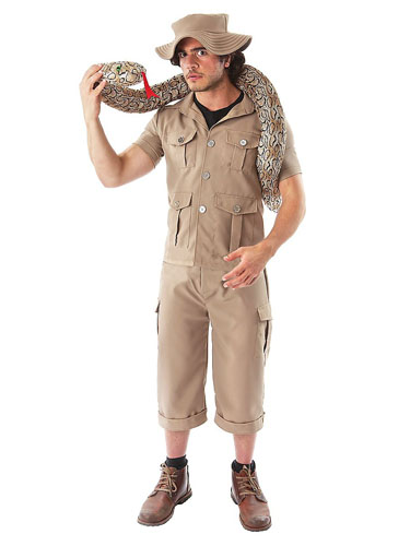 Dschungel Safari Kostüm Herren