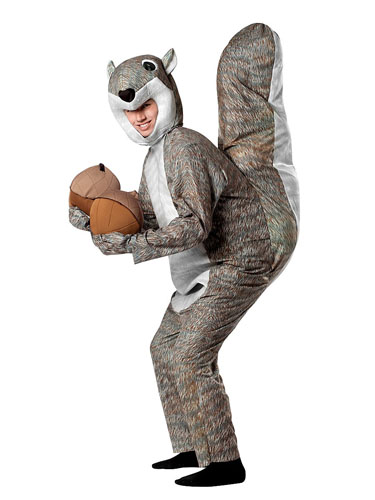 Eichhörnchen Kostüm erwachsene Damen & Herren