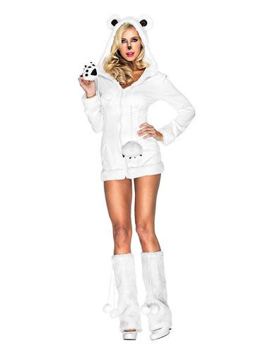 Eisbär Kostüm erwachsene Damen & Herren