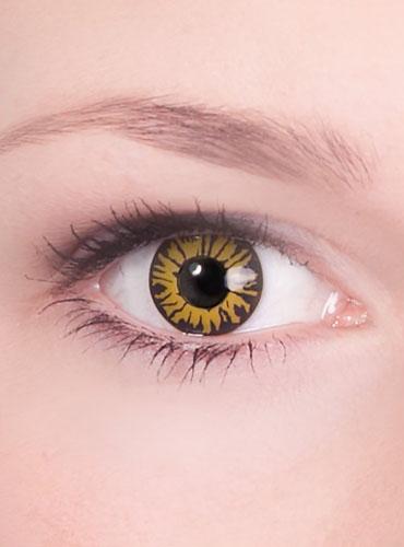 Farbige Halloween Kontaktlinsen Werwolf