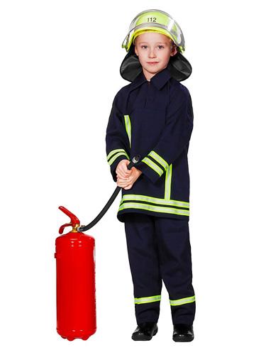 Feuerwehr Feuerwehrmann Kostüm Kinder