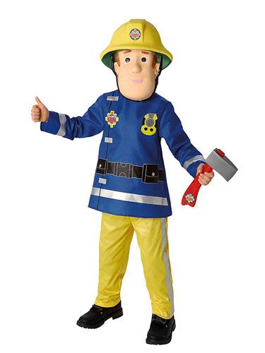 Feuerwehrmann Sam Kinderkostüm