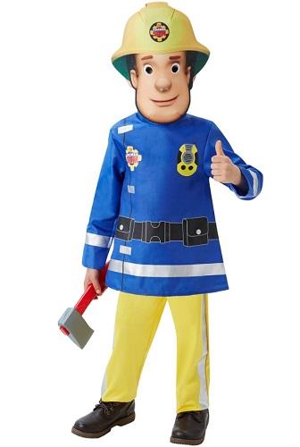 Feuerwehrmann Sam Kostüm Kinder