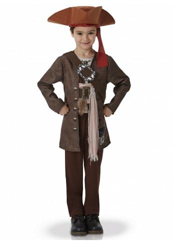 Fluch der Karibik Captain Jack Sparrow Kostüm Kinder