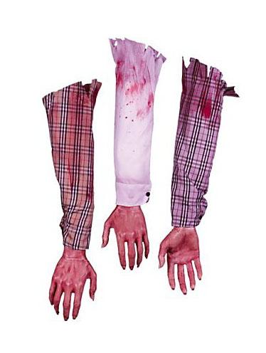 Halloween Deko Leichenteile