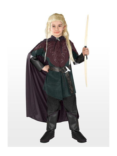 Herr Ringe Kostüm Elben Legolas Kinder
