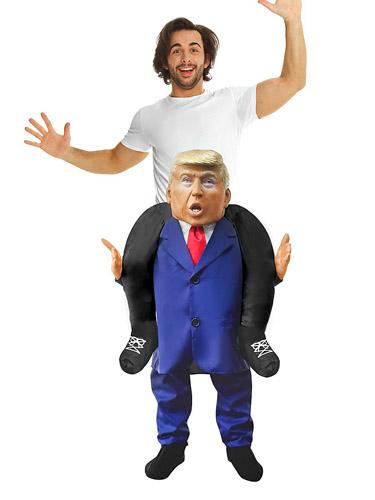Huckepack Kostüm Trump