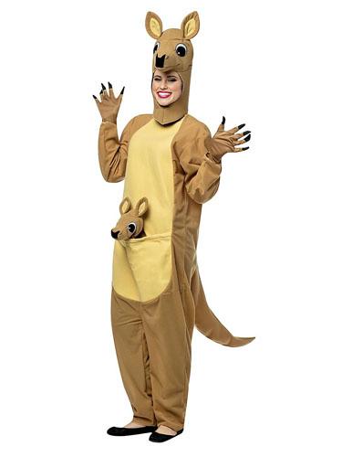 Känguru Kostüm erwachsene Damen Herren