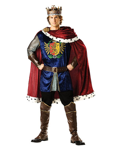 König Kostüm Herren