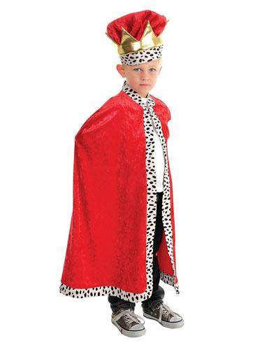 König Kostüm Kinder