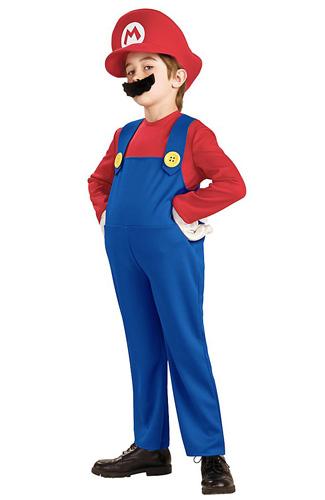 Mario und Luigi Kostüm Kinder