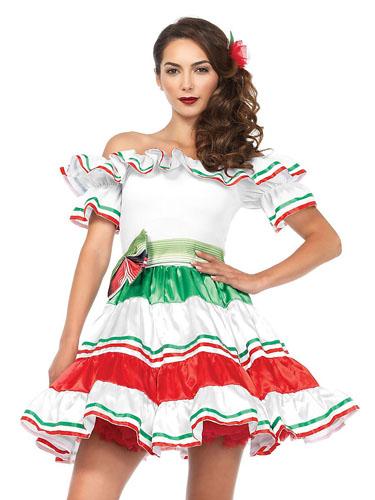 Mexikanerin Kostüm Damen