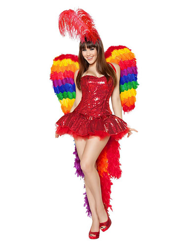 Papagei Kostüm Damen