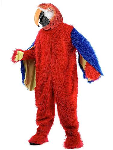 Papagei Kostüm Herren