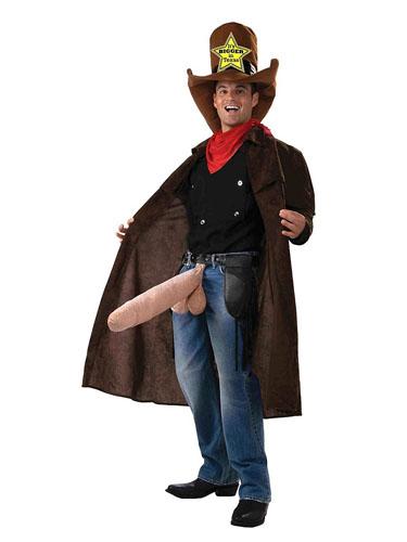 Penis Kostüm Cowboy