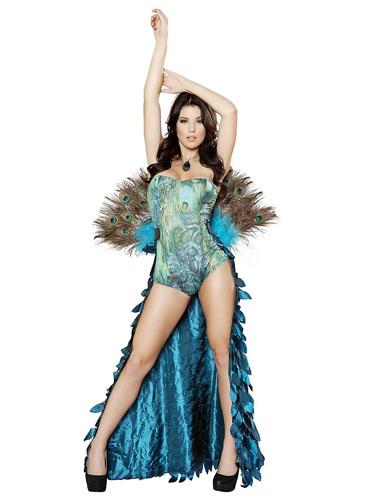 Pfau Kostüm Damen